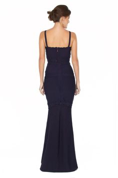 Vestido Luzzy Dark Navy - Jodri - Dress & Go