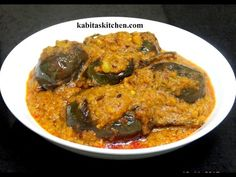 This is a Simple Home Made Spicy Besan Curry recipe which is quite simple to make .This Simple Home Made Besan Curry is made with gram flour and several Indi. Fried Fish Recipes, Spicy Recipes, Curry Recipes, Indian Food Recipes, Vegetarian Recipes, Ethnic Recipes, Veg Recipes, Cooking Recipes, Baingan Masala
