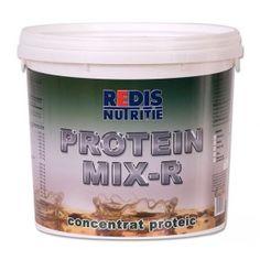 Proteinmix - R este un supliment ce contine principalele surse de proteina de origine animala: zer, lapte si albus de ou. Concentratia proteica este de 85%. Coconut Oil, Jar, Food, Meal, Essen, Jars, Hoods, Meals, Eten