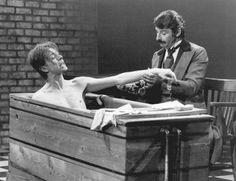 1979 - David Bowie as John Merrick in The Elephant Man on Broadway 70s.