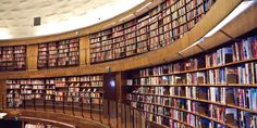 """""""What the 'death of the library' means for the future of books"""" -- """"This is not the end of the library"""" is an answer to yet another suggestion to do away with physical libraries and it provides a good defense of libraries as """"so much more than repositories of dead tree books."""" [Photo is """"Stockholm Public Library,"""" by Samantha Marx , via Flickr: https://www.flickr.com/photos/spam/5086168739/]"""