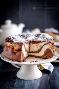 Sernik piernikowy Polish Recipes, Christmas Baking, Cake Cookies, Yummy Cakes, Delicious Desserts, Cake Recipes, Sweet Treats, Good Food, Food And Drink