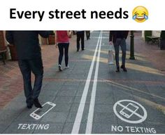 You'd find me on the right side... I don't text anyone xD