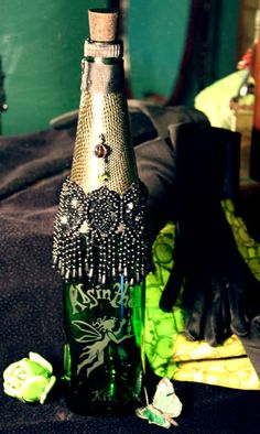 Absinthe bottle - talk about random, a friend of mine made this.