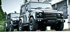 The URBAN TRUCK range consists of  a number of after market editions from the Land Rover Defender 90 and 110 range