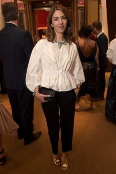 Sofia Coppola Photos - Sofia Coppola attends the Cartier Fifth Avenue Grand Reopening Event at the Cartier Mansion on September 2016 in New York City. - Sofia Coppola Photos - 418 of 2232 Diana Fashion, Fashion Mode, Look Fashion, Fashion Outfits, Sofia Coppola Style, Looks Style, My Style, Pinterest Fashion, Street Style