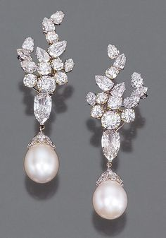 Okay Harry Winston, I am diggin these earrings!