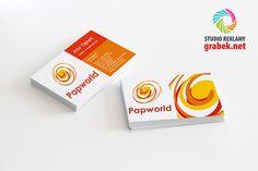 Wizytówki dla firmy Papworld