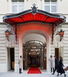 Le Royal Monceau Hotel - Paris, I want to be here
