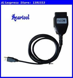 Acartool FoCOM OBD2 diagnostic interface FoCom ECU Scan Cable for Ford Focom 1.0.9419 FoCOM VCM OBD USB Interface