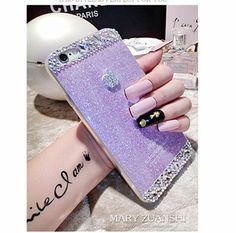 Diamanten Funkelndes Pulver mit Apple Desgin einfach Telephone case für Iphone5/5s/6/6plus