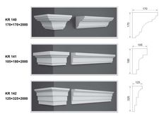 Cornice Moulding, Moldings, Florida Home, Fabricant, Window Sill, Decorations, House, Home Decor, Window Trims