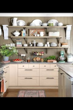 the wall is just perfect in color and texture give a cozy accent to the kitchen to warm up