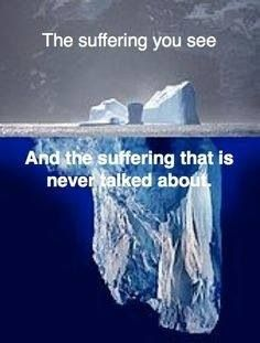 People do not understand that you have to continue life, for your children. Yes, at that moment we seem fine but thats just the tip of the ice berg!!!!