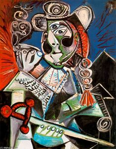 Matador, Oil by Pablo Picasso (1881-1973, Spain)