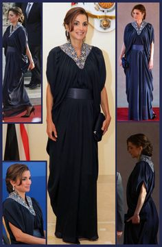 queen rania palestinian dress - Google Search