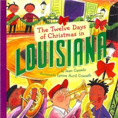 Welcome to the 12 days of Christmas in Louisiana! Ready to greet you are 11 bees a-buzzing, 10 frogs a-leaping, 9 Cajun crawfish, 8 bottles of hot sauce... and much more from the Pelican State.  $9.95