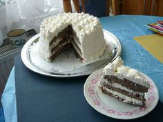 Maková biela torta