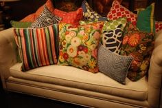 Patterns that might clash, but somehow don't, is at the heart of this technique Eclectic Dining Chairs, Fashion Lighting, Home Decor Shops, Pattern Mixing, Cushions, Throw Pillows, Bright Spring, Farm House, Castles