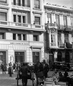 Banco y terraza Palacio
