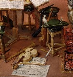 """TICMUSart. TICMUSart: El Oído - Pedro Pablo Rubens y Jan Brueghel """"el Viejo"""" (detalle) (I.M.)"""
