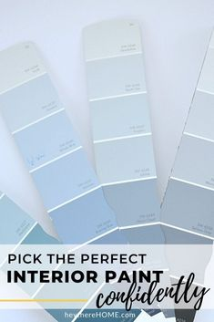 How to choose the paint colors that are right for you! These 8 tips will help you avoid many color mistakes and get the best color for every room. #interiorpaint #choosepaint #colorsforyourhome Neutral Paint Colors, Best Paint Colors, Paint Colors For Home, Grey Paint, House Colors, Interior Color Schemes, Interior Paint Colors, Fine Paints Of Europe, High Gloss Paint