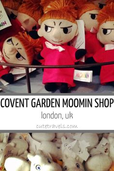 The Moomin Shop, Covent Garden, London