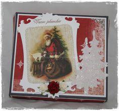 Gunns Papirpyssel, melkehjerter, sjokolade, chocolate, jul, christmas, papirbretting, paperfolding, scrapping, scrapbooking