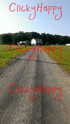 #HomeSweetHome #CountryHome #DirtRoad #Photography #DigitalArt by #ClickyHappy #Farmhouse #House #Farm