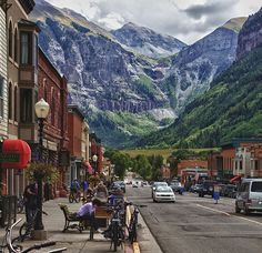 Downtown Telluride ohh