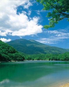 Tyoro lake.  Looking for more information aboout Miyagi? Go Visit Miyagi digital photo library(Miyagi sightseeing section).  http://digi-photo.pref.miyagi.jp/