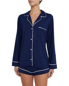 Eberjey+Gisele+Long+Sleeve+Short+Pajamas+Set+|+Underwear,+Pants+and+Clothing