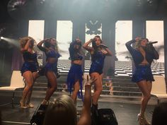 Second row at fifth harmony concert!! Second to last concert of the tour. Dinah, Normani, Camilla, Lauren, and Ally