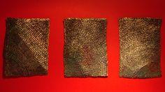 Aqua A, C y D de Olga de Amaral en Casa Cano