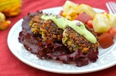 Quinoa Zucchini Cakes from #VeggieWithACause | Try with Nature's Earthly Choice Premium Organic Quinoa | www.earthlychoice.com | http://veggiewithacause.blogspot.com/2012/07/zucchini-cakes.html | #Quinoa #EarthlyChoice