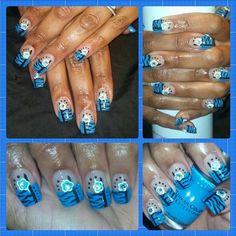 Feeling bluesy;p
