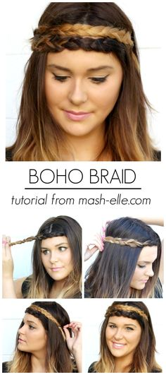 Crazy Easy 3-Step Boho Braid!