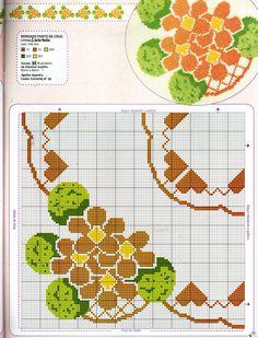 ponto-cruz-flores-punto-de-croce-fleur-19-500x400 78 gráficos de flores em ponto cruz para imprimir