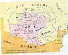 Imagini pentru harta daciei in timpul lui decebal Romanian People, Roman Empire, Maps, Culture, Blue Prints, Roman Britain, Map, Cards