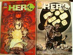 HERO - OBRA COMPLETA 2 TOMOS - MUNDO DE CRISTAL Y PODERES Y HABILIDADES - NORMA (PFEIFER / KANO) (Tebeos y Comics - Comics Pequeños Lotes de Conjunto)
