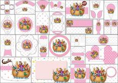 Arca de Noé para Niñas: Kit para Imprimir Gratis. | Ideas y material gratis para fiestas y celebraciones Oh My Fiesta!
