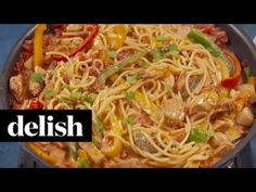 mexican chicken tacos Best Mexican Chicken Pasta Recipe - How to Make Mexican Chicken Pasta Mexican Chicken Pasta Recipe, Mexican Chicken Tacos, Chicken Pasta Dishes, Recipe Using Chicken, Baked Chicken, Mexican Pasta, Chicken Recipes, Lunch Recipes, Pasta Recipes