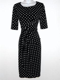 Black polka dot sundress fetish agree with