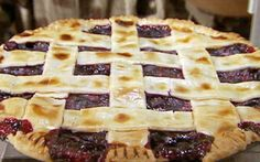 Frozen blueberry pie Recipe by Alton Brown