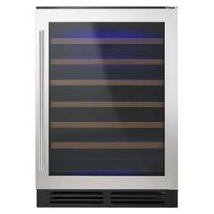 Whirlpool 24 in. W 51-Bottle Wine Cellar WUW35X24DS at The Home Depot - Mobile