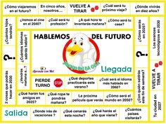 Version of the traditional game of the goose to practice the simple future in the Spanish class. Spanish Worksheets, Spanish Games, Spanish 1, Learn Spanish, Spanish Grammar, Teaching Spanish, Spanish Lessons Online, Spanish Classroom Activities, Learning Activities