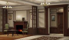 Дизайн-проект трехкомнатной квартиры для зрелого успешного холостяка.