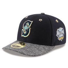premium selection d0128 df7a8 New Era Seattle Mariners Navy 2016 MLB All-Star Game Patch Low Profile  59FIFTY Fitted