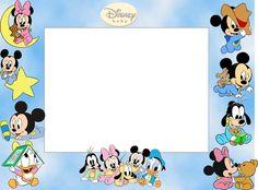 Imprimibles de Bebés Disney 7.