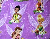 Bib for Baby or Toddler Tinkerbell and Fairy Friends Your Choice
